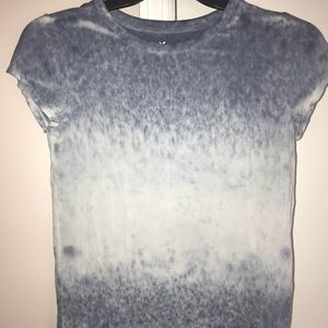 Distressed/washed/tie-dyed top